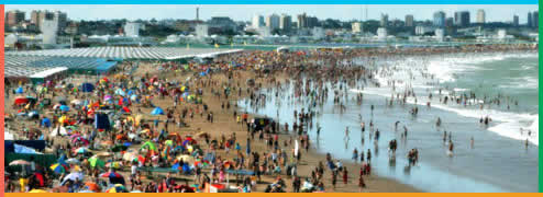 Playas en Mar del Plata